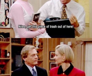 the nanny, funny, and niles image