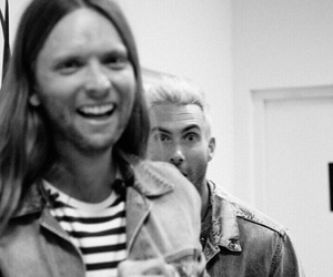 maroon 5, james valentine, and adam levine image
