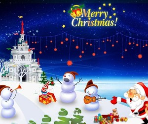 merry christmas and happy occasion image