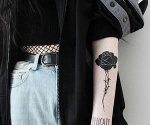 tattoo, black, and grunge image