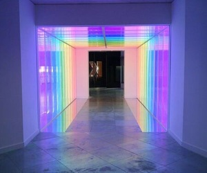 rainbow, aesthetic, and light image
