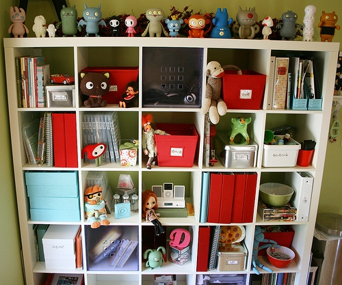 decoration, shelves, and toy art image