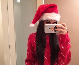 sahar luna, christmas, and saharluna image