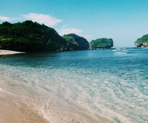 beach, travel, and place image