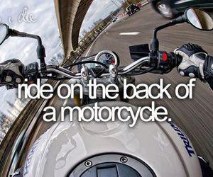 before i die and motorcycle image