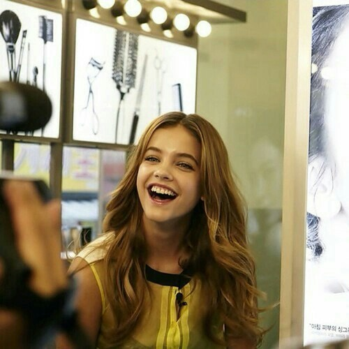 barbara palvin, model, and smile image