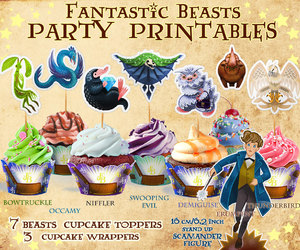 etsy, party decorations, and cupcake wrapper image