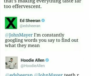 funny, ed sheeran, and hoodie allen image