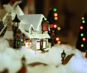 christmas, christmas decorations, and christmas village image