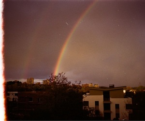 35mm, film, and rainbow image