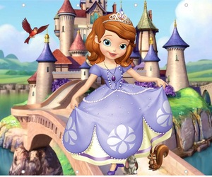 princess, sofia the first, and frozen elsa image