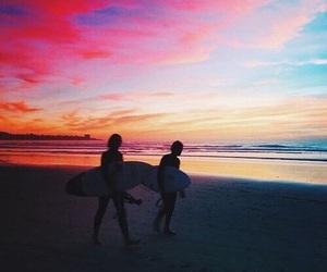 beach, beautiful, and pretty image
