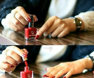 girly and nails image