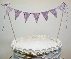 cake topper, etsy, and girl birthday cake image