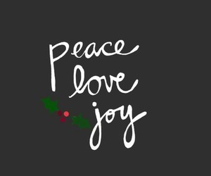 love, christmas, and joy image