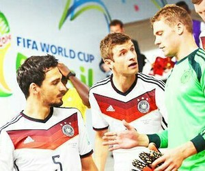 football, germany, and team image
