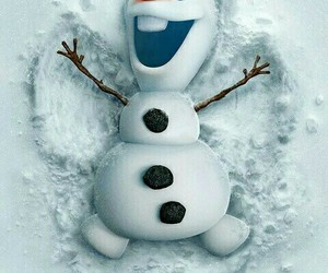 olaf, frozen, and snow image