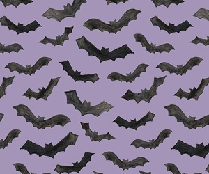 Halloween, bats, and background image