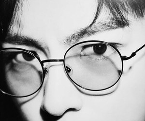 glasses, oppa, and T.O.P image