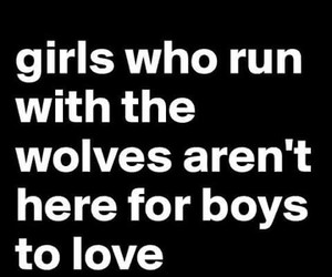 wolf, me, and quote image