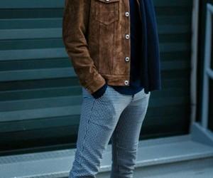 fashion, hairstyle, and jacket image