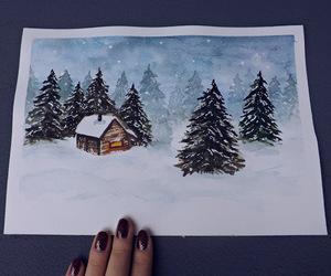 art, christmas, and handmade image
