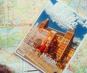 amsterdam, travel, and love image
