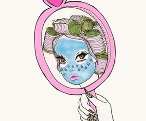 valfre, art, and pink image