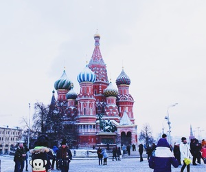 christmas, Red Square, and moscow image