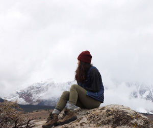 hipster, indie, and mountains image