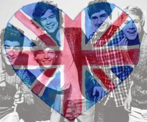 british, flag, and Hot image