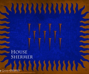game of thrones, house tyrell, and house shermer image