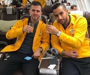 Juventus, miralem pjanic, and medhi benatia image