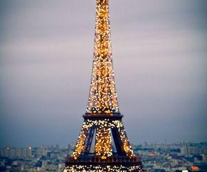 paris, france, and light image