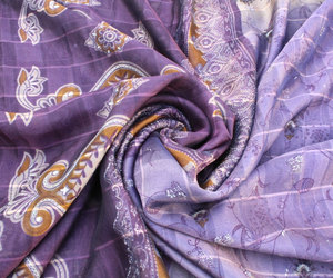 cloth, fabric, and silk fabric image