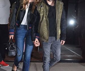 gigi hadid, zayn malik, and model image