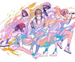 anime girl, artwork, and japan image