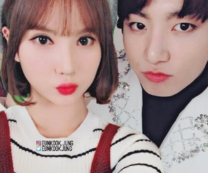 bts, eunha, and gfriend image