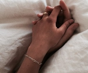 boyfriend, hands, and holding hands image