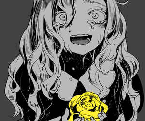 cry, death, and girl image