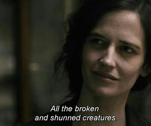 eva green, penny dreadful, and creatures image