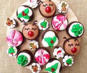 cupcake and holiday image