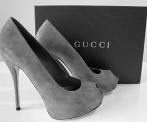gucci, shoes, and heels image