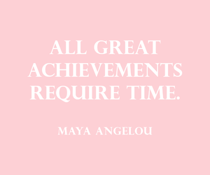 pink and quote image