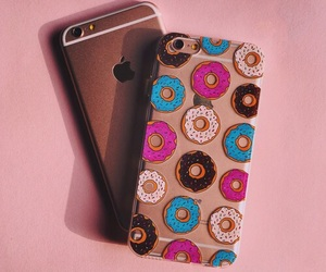 donuts and iphone image