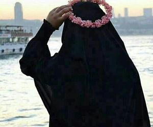 hijab, muslim, and حجاب image
