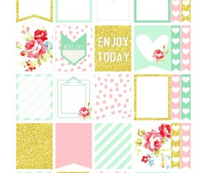 background, layout, and planner image
