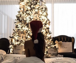 christmas, winter, and dior image