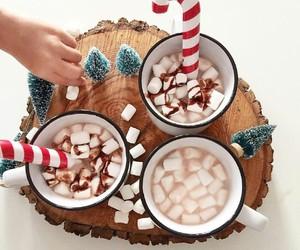 christmas, cocoa, and food image
