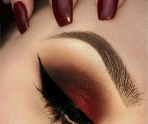 beauty, love, and make up addicted image